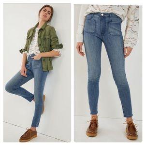Anthropologie AG THE STEVIE high rise skinny jeans